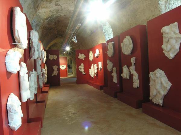 interno Museo dei Marmi - MuMar