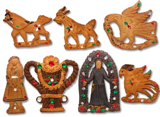 Risultati immagini per mostaccioli neri cavallo san francesco