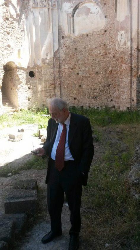 Pier Giovanni Guzzo_soprintendente di Pompei.