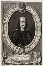 Fig. 5. Anselmus van Hulle e Pieter de Jode, El conde de Peñaranda  ,Anversa, 1648
