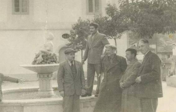 Nella foto da destra verso sinistra: Domenico Settembre