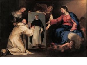 Fig. 4. Alonso Cano, San Domenico a Soriano, ca. 1652-1667, olio su tela, Instituto Gómez-Moreno de la Fundación Rodríguez-Acosta,Granada