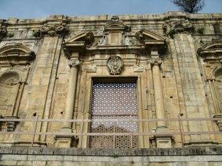 Facciata barocca dell'Antica Chiesa di San Domenico