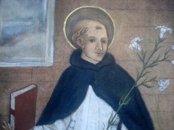 San Domenico di Guzmán e la omonima celeste Immagine di Soriano