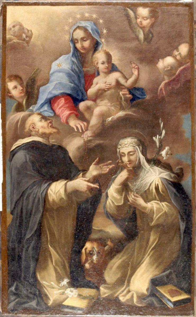 San Domenico visto da Santa Caterina da Siena