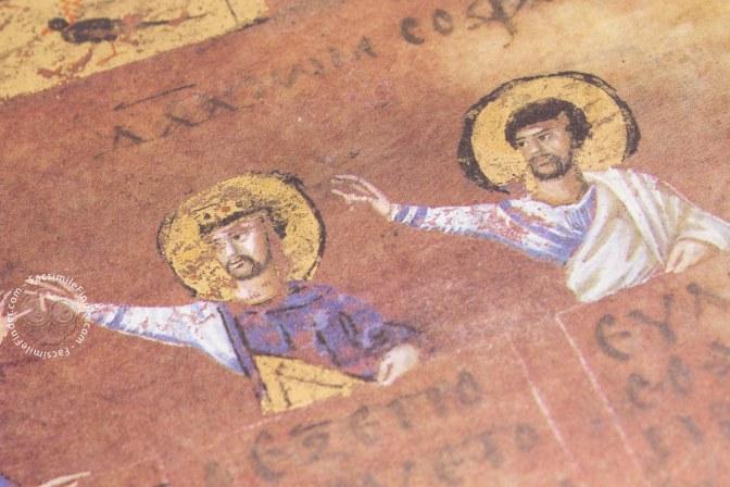 """A Soriano Calabro nella Biblioteca Calabrese si trova  """"l'integrale in facsimile del Codex Purpureus Rossanensis"""