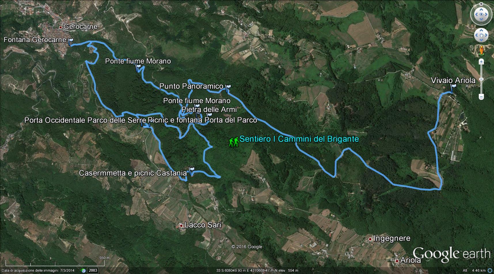 Cammini_Brigante_Google_Earth