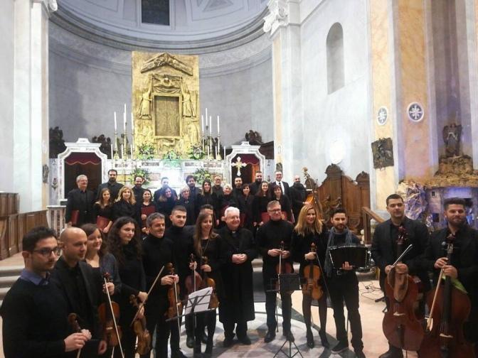 Grande successo ieri sera nella Basilica di San Domenico per il XVIII Concerto di Natale