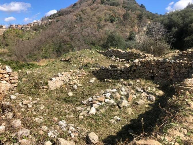 Ruderi XI sec. Monastero di San Pietro Spina- Ciano di Gerocarne
